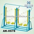 gimnasio al aire libre equipos doble walker de aire