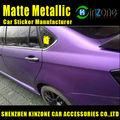 púrpura Pirita Mate película del vinilo WRAP W / rápida de aire Calcomanias para auto