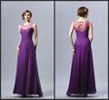 Hot vente 2014 amanda novias pourpre robes de demoiselles d'honneur