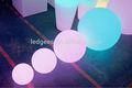 Led piscando bola quicando com multi- cor luz/iluminado led piscina de bolinhas