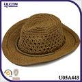 De nuevo modelo sombrero de panamá para mujeres de paja sombreros rafia