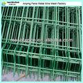 De la ue y estados unidos el patio trasero de la cerca de metal( ral6005 verde, blanco ral9010) fabricación china