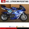 los niños 50cc pocket bike