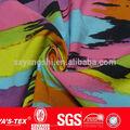 de nylon del spandex lycra tramo de la urdimbre de tejido de punto ligero kniting tela a prueba de agua para trajes
