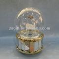 venta al por mayor favorito de la bola de cristal con los ciervos de navidad en el interior decoración