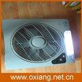 de calidad superior sistema de iluminación led de la batería recargable del ventilador