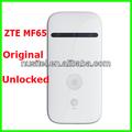 desbloqueado móvil 3g router wifi 21 mbps zte mf65 moden