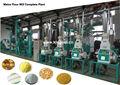 harina de maíz 20t por día de harina de maíz de la máquina de fresado