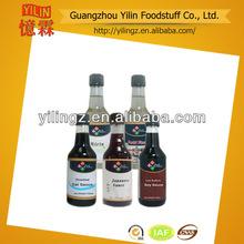 prix concurrentiel 150ml verre bouteille pack sauce japonaise pour les sushis fournisseur de produits certifiés haccp etiso
