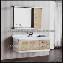 Muebles de estilo moderno alta calidad baño esquina espejo Gabinete baño modelo 9026-800