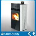 Dos- la puerta del quemador de pellets de madera independiente estufas de combustión/chimenea