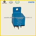12V 30A 5 Terminal de relé automático con soporte de plástico de tipo universal