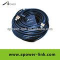 2013 Mejor Extension Cable Cable de alta velocidad HDMI M / M Con 25M Viruta