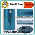 External salidas doble poder banco 5200mah