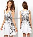 Señoras vestido de moda al por mayor(S4009)