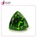 la piedra preciosa esmeralda forma de triángulo cz piedra preciosa esmeralda piedra de los precios
