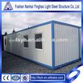 contenedor de la construcción de casas para la venta