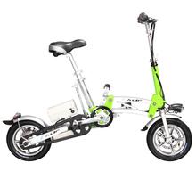 2014 peso leve de alumínio de dobramento da bicicleta elétrica 3 roda
