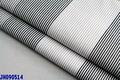 Cvc tissu noir/coton blanc/polyester bande de tissu pour chemises tissus africain