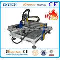 Alta precisión pequeño escritorio del ranurador del CNC con el brazo giratorio