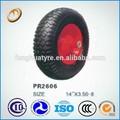 Rueda de neumático de la carretilla de la rueda 350-8 neumático de la carretilla