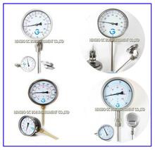 Economical indicador de temperatura del termómetro bimetálico