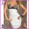 Mini vestido con pinchos sujetador vestido del arnés PP2095 alta calidad del partido atractivo popular para las señoras