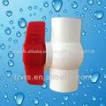 pvc bola de la válvula para tratamiento de agua