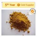 polvo fino de color amarillo pigmento óxido de hierro