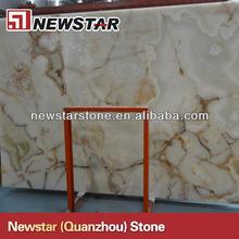 newstar translúcido onyx losa de mármol