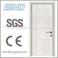 Puerta interior de madera de PVC