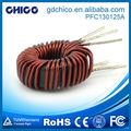 PFC130125A Enrolamento conveniente silício ferro núcleo de ar enrolamento indutor