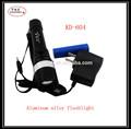 recargable de la batería fuente de alimentación de aluminio y cuerpo de la lámpara material linterna zoomer