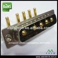 pinos de alimentação 5w5 macho para conector elétrico