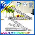 100cm regla métrica/100 cm regla plegable/abs plegable regla para los niños