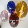 elegent bola redonda de color de bola de cristal con el agujero