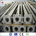 poteau en acier de galvanisation extérieure