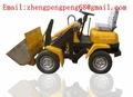 ZSZG ZL-03 300KG cargador frontal, cargadora de ruedas eléctrica