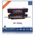m1 pesas de hierro fundido 500kg