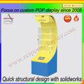 Nuevo pos Expositor giratorio con luz solar en venta caliente