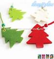 fieltro 2014 del árbol de navidad decoraciones