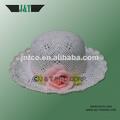 2014 nuevo tejido a mano de bebé niña los niños de paja sombreros infantil