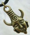 Demônio Proteção Amuleto Pingente bronze pingente Supernatural Dean