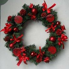 guirnaldas de trabajo al por mayor, Corona de Navidad Garland