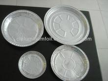 rodada de folha de alumínio panelas de cozimento para pratos de comida