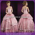 Halter sa-q194 chispas de lentejuelas bola vestido de niña de concurso niños vestidos vestidos de noche para los niños