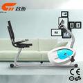 2014 produto novo design interior bicicleta fitness body fit bicicleta reclinada
