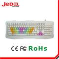 teclado jedel fabricación última de juegos de pc teclado luminoso
