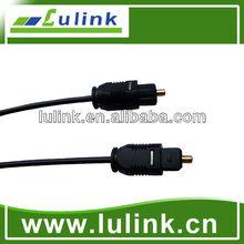 La venta caliente!! Digital óptica de fibra óptica toslink cable de audio para 3.5 cable