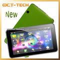 Mejor Tablet Android 4.0 de colores en rosa, azul, verde, de doble cámara OCTPAD Tablet mejor que Q88